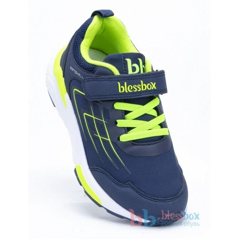 Кроссовки для мальчика  BlessBox  BX50738A (26-30) салатовый