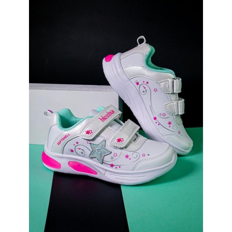 Кроссовки для девочки BlessBox BX50935C (26-31) белый