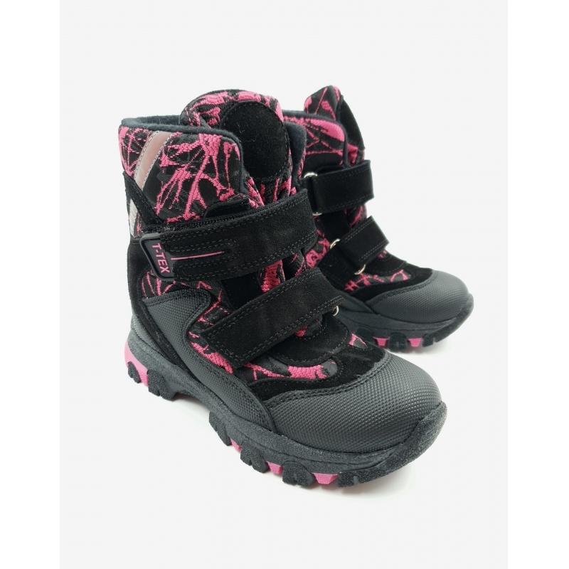 Мембранные зимние ботинки  Panda Ortopedic 220-20 (26-30)фуксия