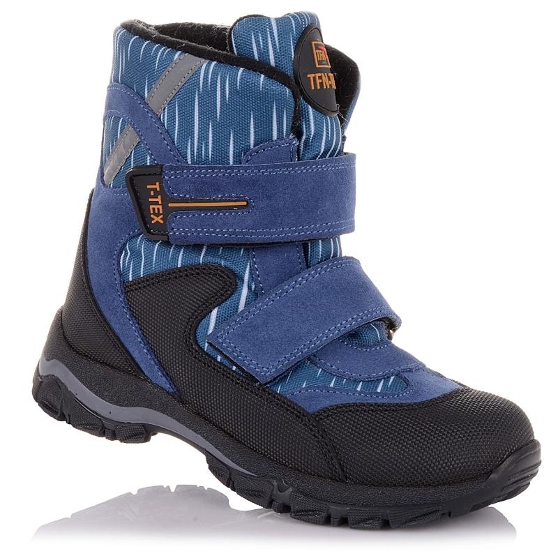 Мембранные зимние ботинки для мальчика фирмы Panda Orthopedic 54314 (31-36)