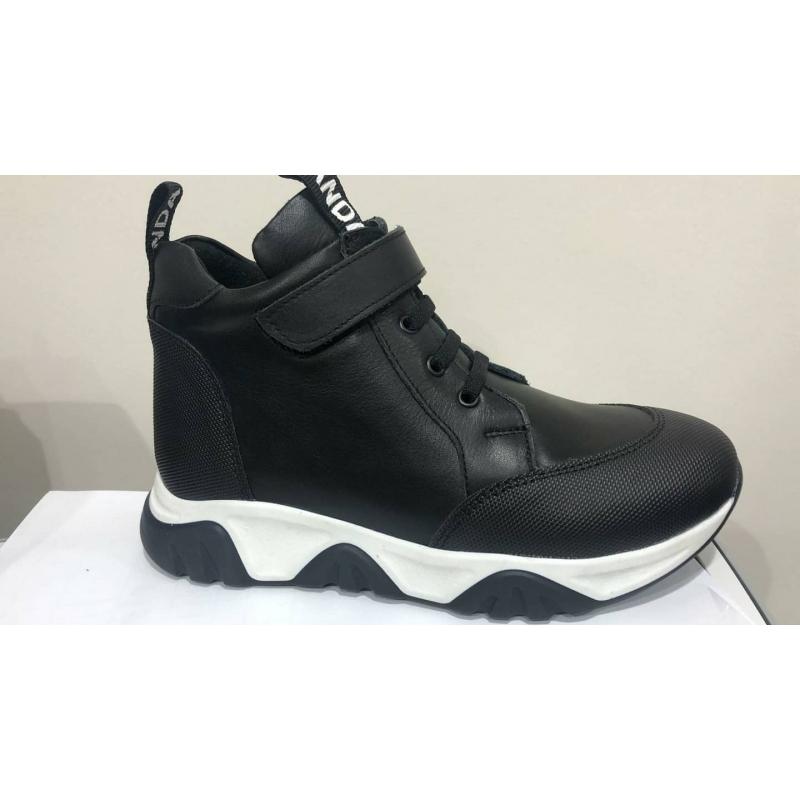 Ботинки для мальчика Panda Ortopedic  420-21 (31-36) Чёрный