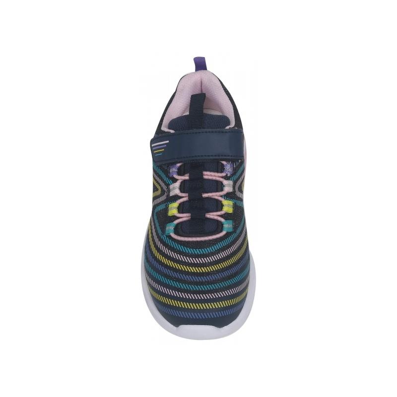 Кроссовки-мигалки  для девочки  тм BiKi  арт.A-B00826-A (27-32) синий
