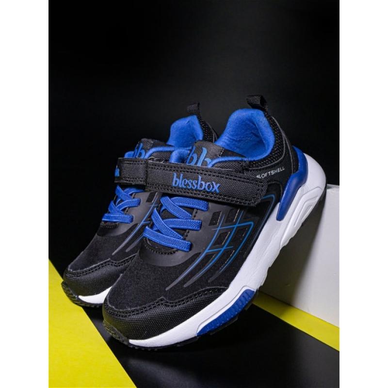 Кроссовки для мальчика Кроссовки для мальчика  BlessBox  BX50738B (26-30) синий