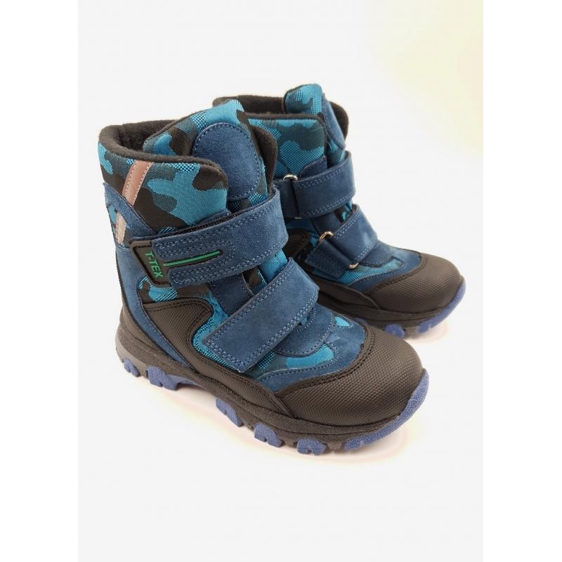 Мембранные зимние ботинки  Panda Orthopedic 239-20(22-25)синий
