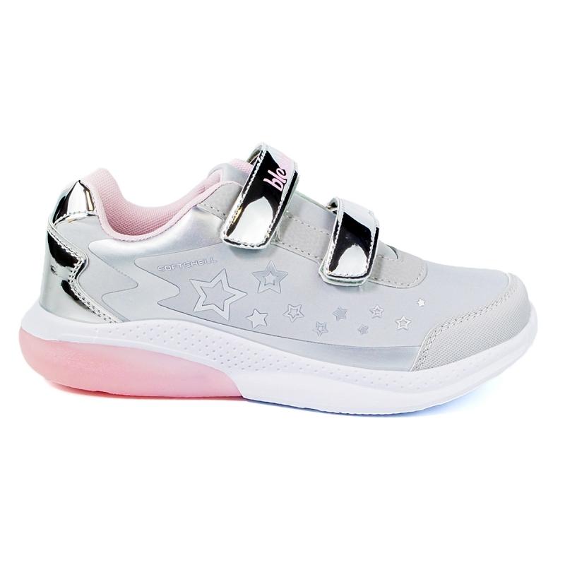 Кроссовки для девочки BlessBox BX50929A (32-37) серый