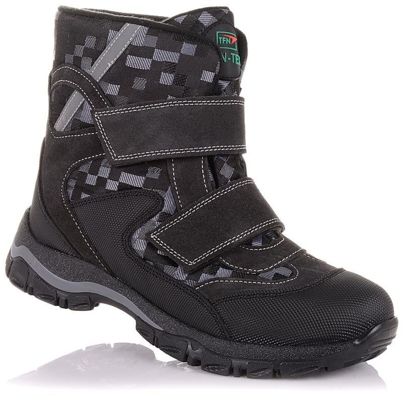 Мембранные зимние ботинки Panda Orthopedic 249-20(26-30)клетка