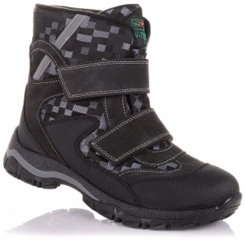 Мембранные зимние ботинки  Panda Orthopedic 238-20(22-25)серый